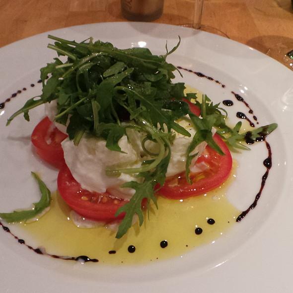 Tomatoes with Mozzarella di Buffalo and Rocket @ La Ruchetta