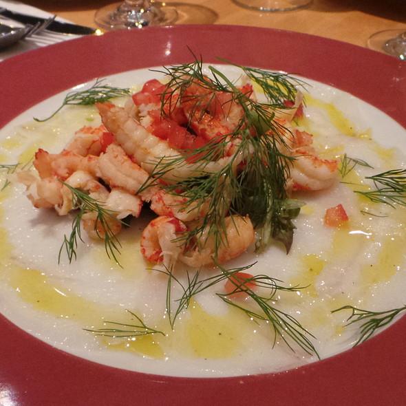 Fish Carpaccio, Crayfish @ La Ruchetta