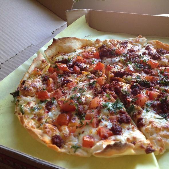 Breakfast Pizza @ Sipan Bakery