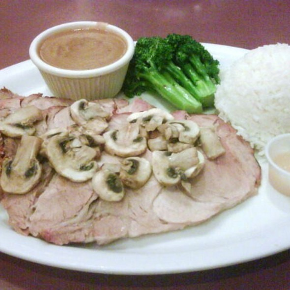 roast pork @ Pacific Court Cafe