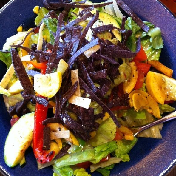 Vegetable Fajita Salad