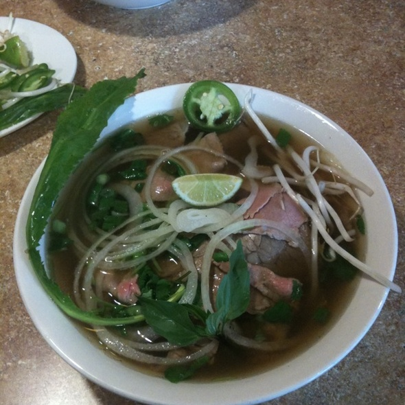 Pho Tai, Nam (round & Brisket) @ Pho 79