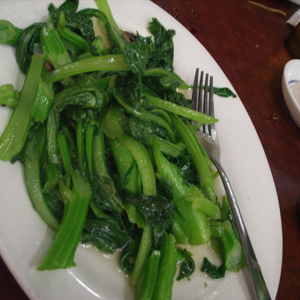 Chinese green vegetable @ Yuet Lee Seafood Restaurant