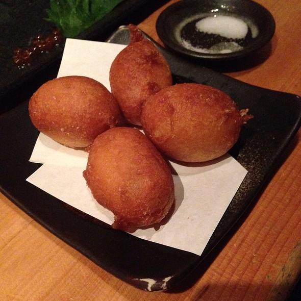 Donut Batter Fried Potatoes