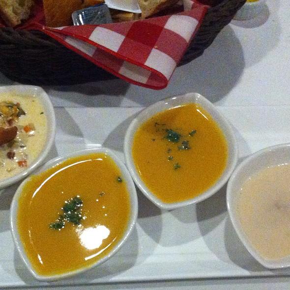 Soup Sampler At Alfa Bar Dining Room