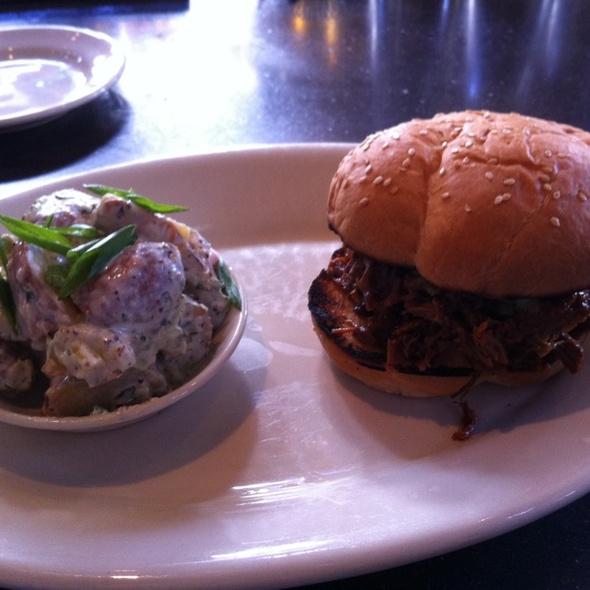 Beef Brisket Sandwich @ Lambert's Downtown Barbeque