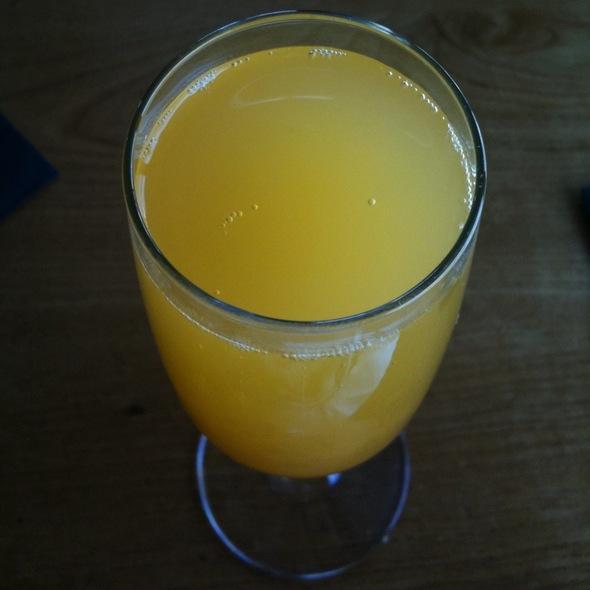 Ginger Mango Mimosa @ South Congress Cafe