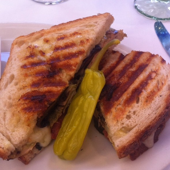 Chicken Pesto Panini - The Remington, Houston, TX