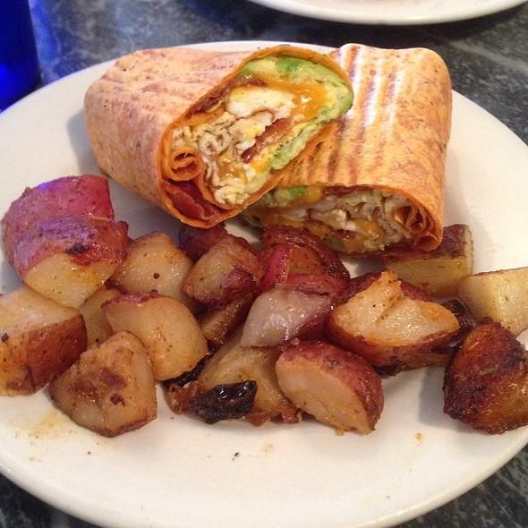 California Egg Wrap @ Chestnut Cafe & Eatery
