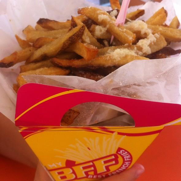 Garlic Butter Parmesen Fries @ Best French Fries