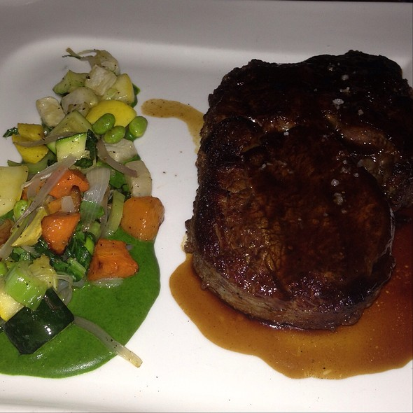 Bourbon Glazed Rib Eye Steak - Grace - Portland, Portland, ME