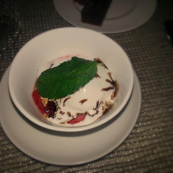 Kula Strawberries & Fior Di Latte - Azure - The Royal Hawaiian, Honolulu, HI