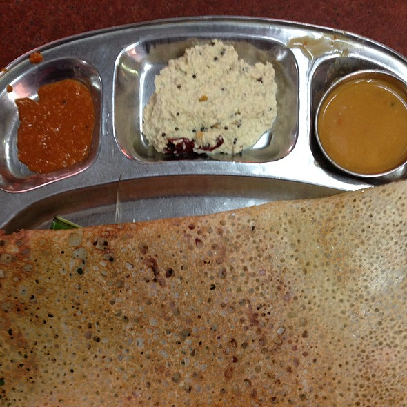 Onion Rava Dosa @ Happy Homes Tiffins