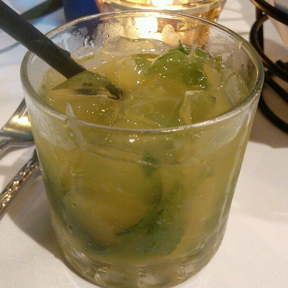 Passion Fruit Mojito - Ortanique on the Mile, Coral Gables, FL