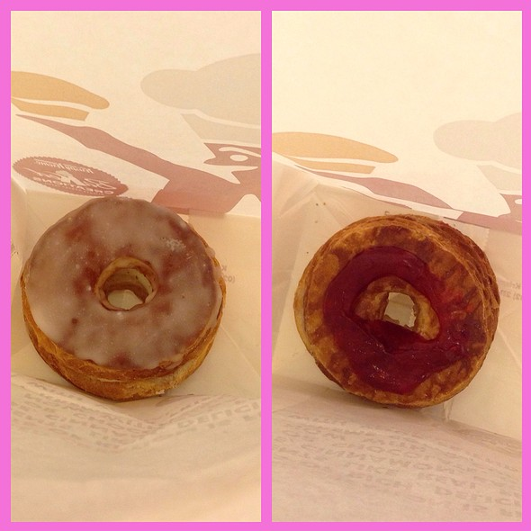 Cronuts @ Krispy Kreme