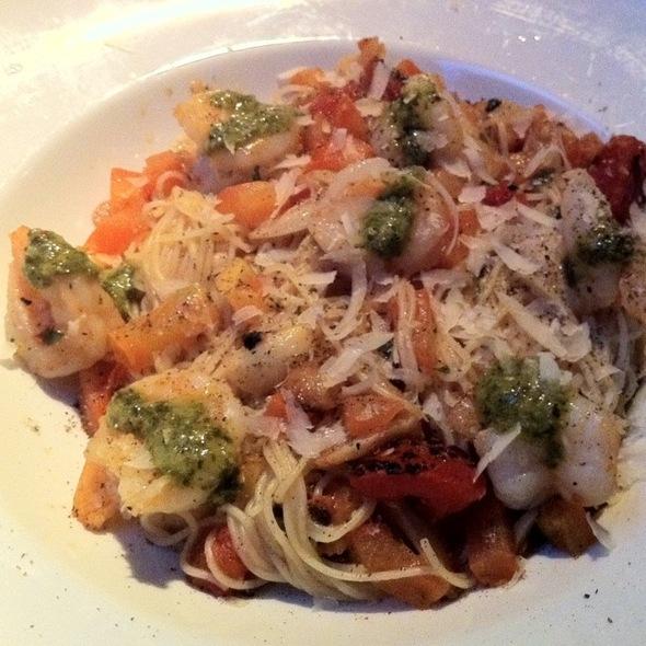 Shrimp Angel Hair Pasta @ Alice Fazooli's Italian Grill