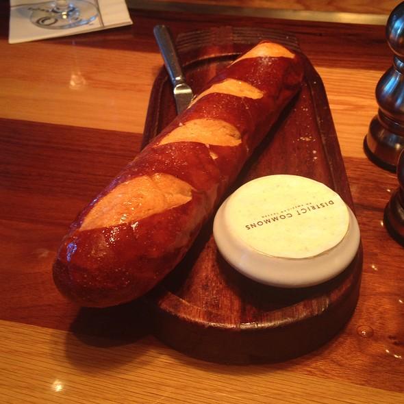 Hot Pretzel Baguette W. Beer Mustard Butter