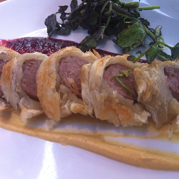 Duck Tongue In Phyllo