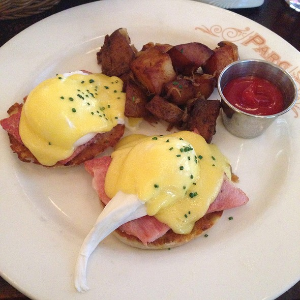Eggs Benedict @ Parc