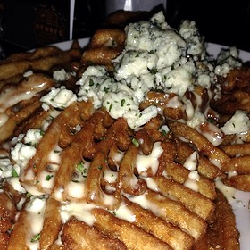 Gorgonzola French Fries - Henry's 12th Street Tavern, Portland, OR