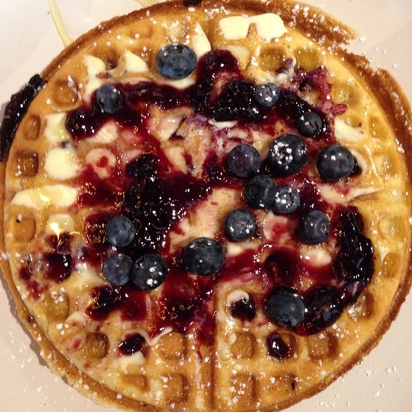 Black And Blue Belgian Waffles @ Canvas