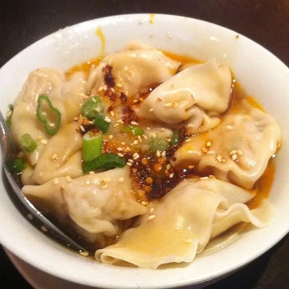 Spicy Pork Dumplings - Crouching Tiger Restaurant, Redwood City, CA