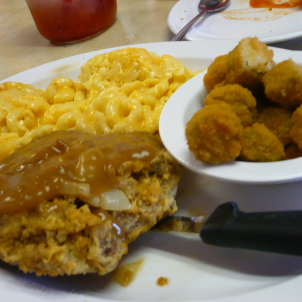 Country Fried Steak At Southern Kitchen