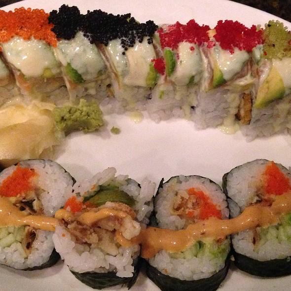 Godzilla roll - Sushi Zushi of 5th Street, Austin, TX