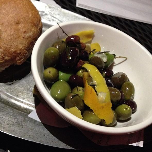 House Marinated Olives @ Bacchanal Fine Wine & Spirits