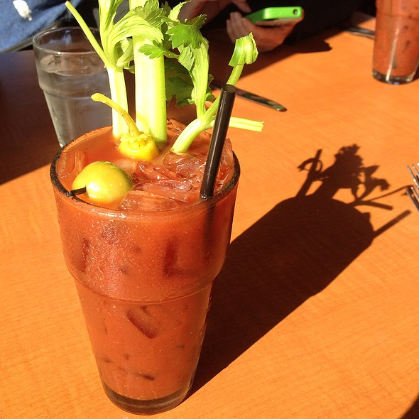 Bloody Mary - Johnny's Harborside, Santa Cruz, CA