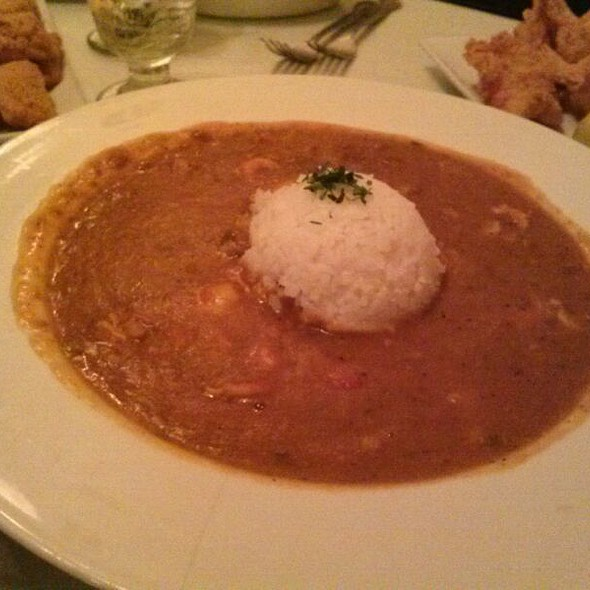 Shrimp And Crawfish Etouffe  - Harold And Belle's Creole Restaurant, Los Angeles, CA
