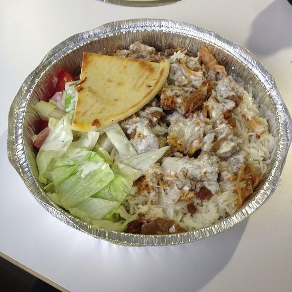 Combo Gyro Plate @ Halal Cart
