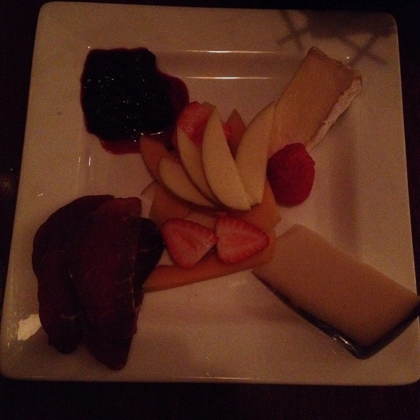 Cheese And Salami Plate @ Ernesto's Wine Bar