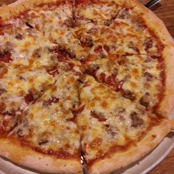 Pepperoni, Hamburger, Sausage Pizza