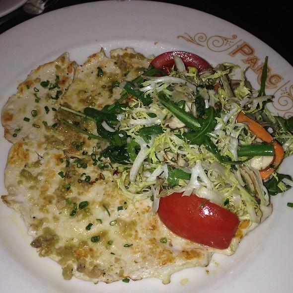 Chicken Paillard Salad @ Parc
