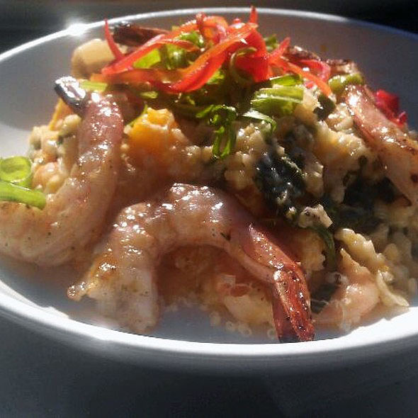Shrimp And Butternut Squash Risotto @ Thirsty Lion Pub & Grill
