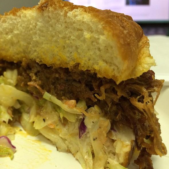 Beef Brisket Sandwich @ Costco Iwilei