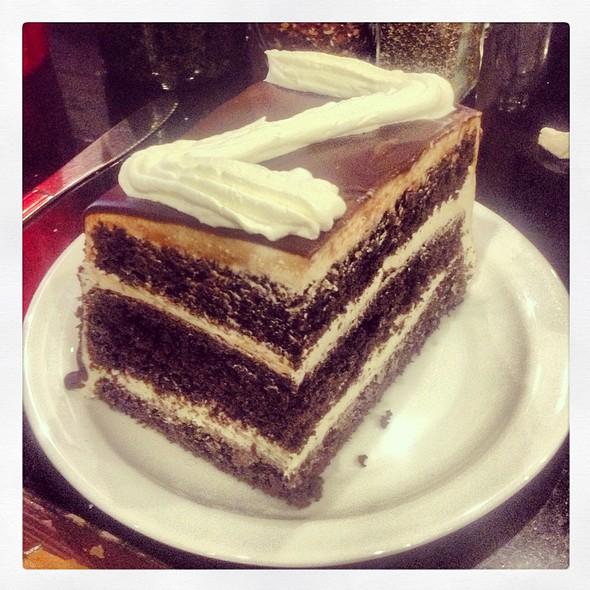 Zebra Cake @ Joe's Italian