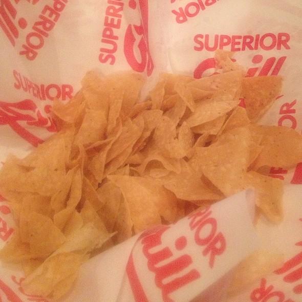 Tortilla Chips @ Superior Grill