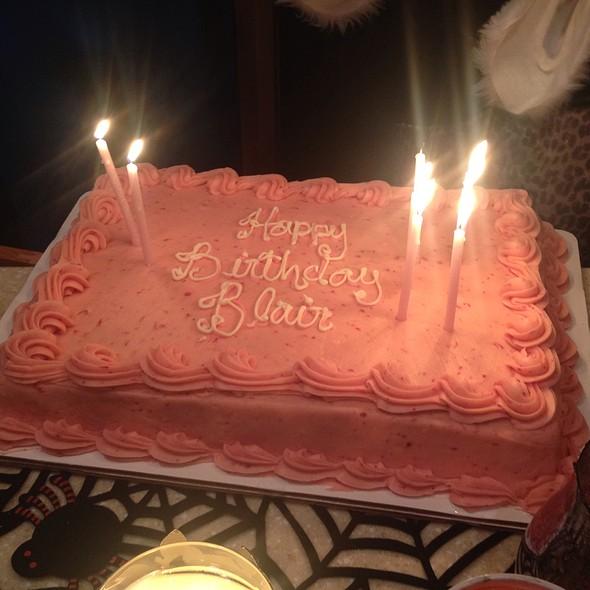 Strawberry Cake @ Edgar's Old Style Bakery