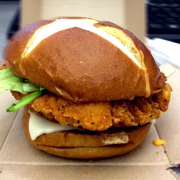 Pretzel Pub Chicken Sandwich @ Wendy's