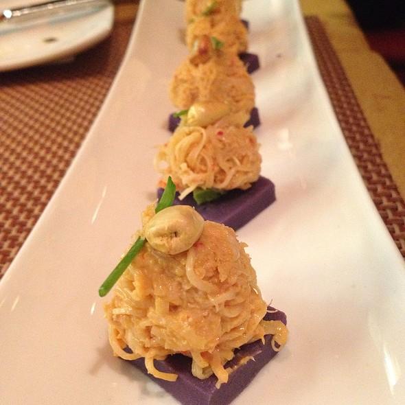 Spicy Crab Potato Sushi - Zengo - D.C., Washington, DC