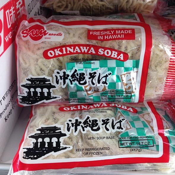 Sun Noodle Okinawan Soba @ Jungle Jim's International Market