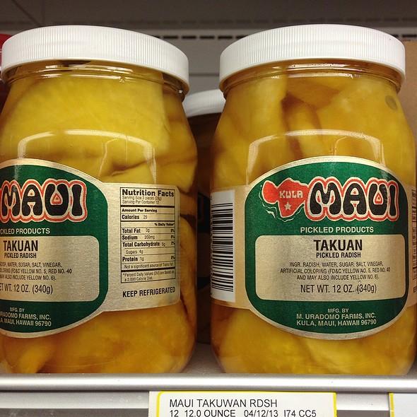 Maui Takuan @ Jungle Jim's International Market