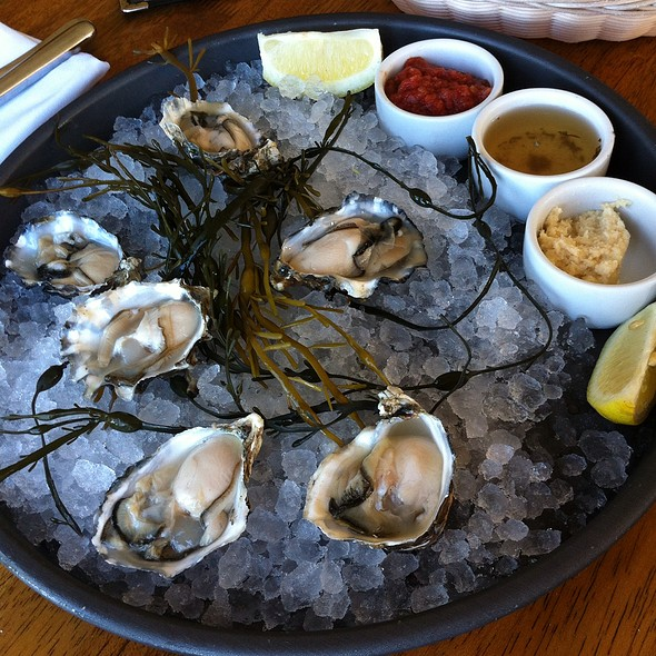 Oysters On The Halfshell @ Sailor Jack's