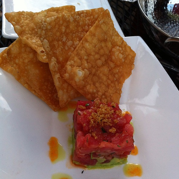 Ahi Tuna Tartare @ MANKAS Tapas Bar & Steakhouse