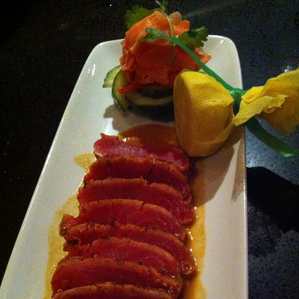 Seared Ahi Tuna @ Ruth's Chris Steak House (Walnut Creek)