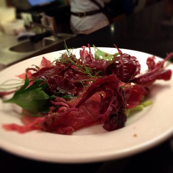 Organic Beef Carpaccio