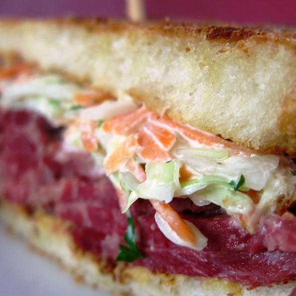 Reuben Sandwich @ Wildflour Cafe + Bakery