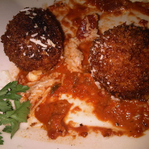 Fried Macaroni And Cheese @ The Cheesecake Factory